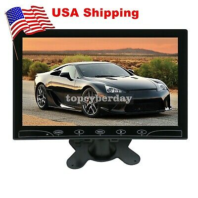 "10.1"" Touch LCD CCTV Monitor Display HDMI/VGA/AV for PC Car"