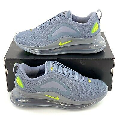 Nike Air Max 720 Cool Grey Volt Men's Shoes Sneakers Green Gray CT2204 001