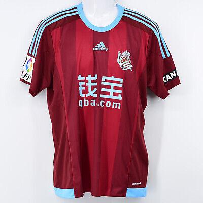 2015-16 Real Sociedad Away Shirt Adidas *BNWT* M Jersey