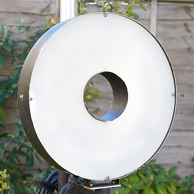 Ring Flash Head (Extra large 47cm Ring Flash custom built studio head for Elinchrom )