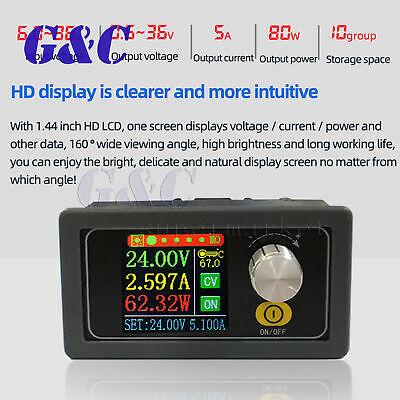 Dc Dc Buck Boost Converter Cc Cv 0.6-36v 5a Adjustable Power Supply Module