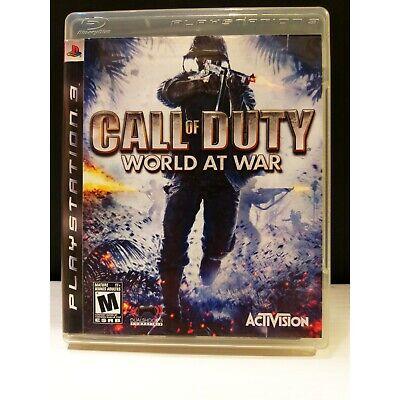 CALL OF DUTY WORLD AT WAR (USA) (Inglese, Multilingue No Ita) [PS3]...