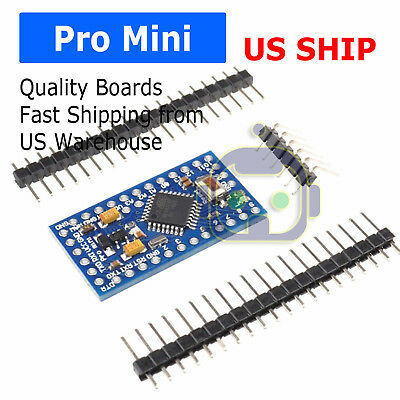 Arduino Pro Mini Board Free With Headers Atmega328p 16mhz 5v Atmega328
