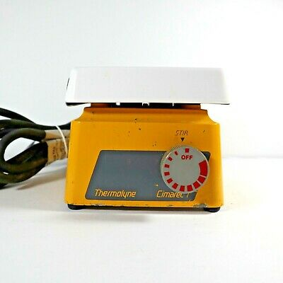 Thermolyne Cimarec 1 Magnetic Stirrer S46415 Tested And Working.