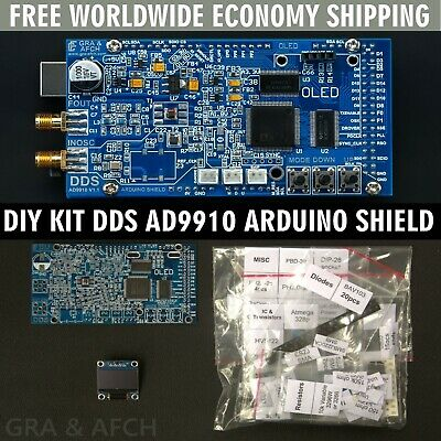 Diy Kit Dds Ad9910 Arduino Shield Rf Signal Generator With Options Free Shipping