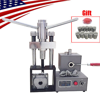 Dental Flexible Denture Machine Dentistry Injection System Equipment Free Gift
