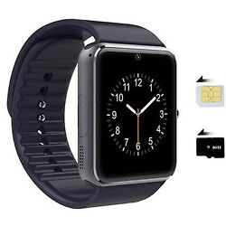 Touch Screen Bluetooth Smart Watch Phone Mate Alarm Clock For Android Smartphone