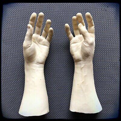 Unpainted Latex Prop Hands Severed Fake (Hand Halloween Prop)