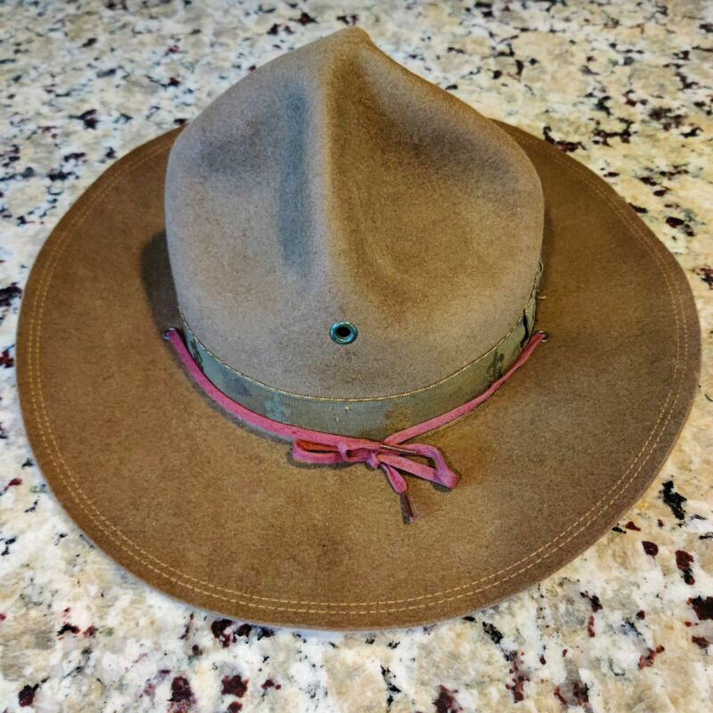 VTG Boy Scouts of America National Council New York City Scout Master Hat