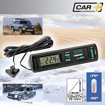 Car & Home Interior Exterior -50/+70 Temperature Ice Warning Thermometer - Light