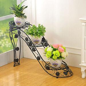 High heeled shoes flower pot plant wedding garden yard - Pedestal para plantas ...