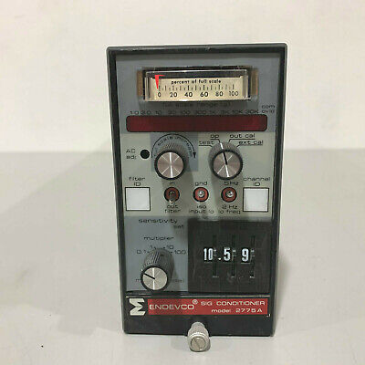 Endevco Model 2775a Signal Conditioner