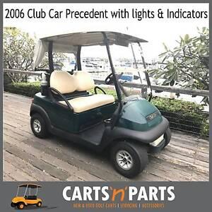 2006 Golf Cart Buggy Club Car Precedent  lights & Indicators Hope Island Gold Coast North Preview