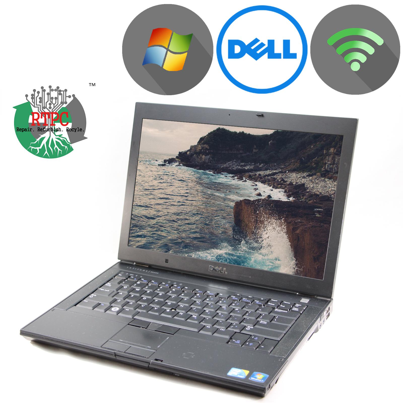 Dell Latitude E6410 Laptop Intel Core i5-2.4 4GB NEW 250Gb DVD WIFI windows 10 p