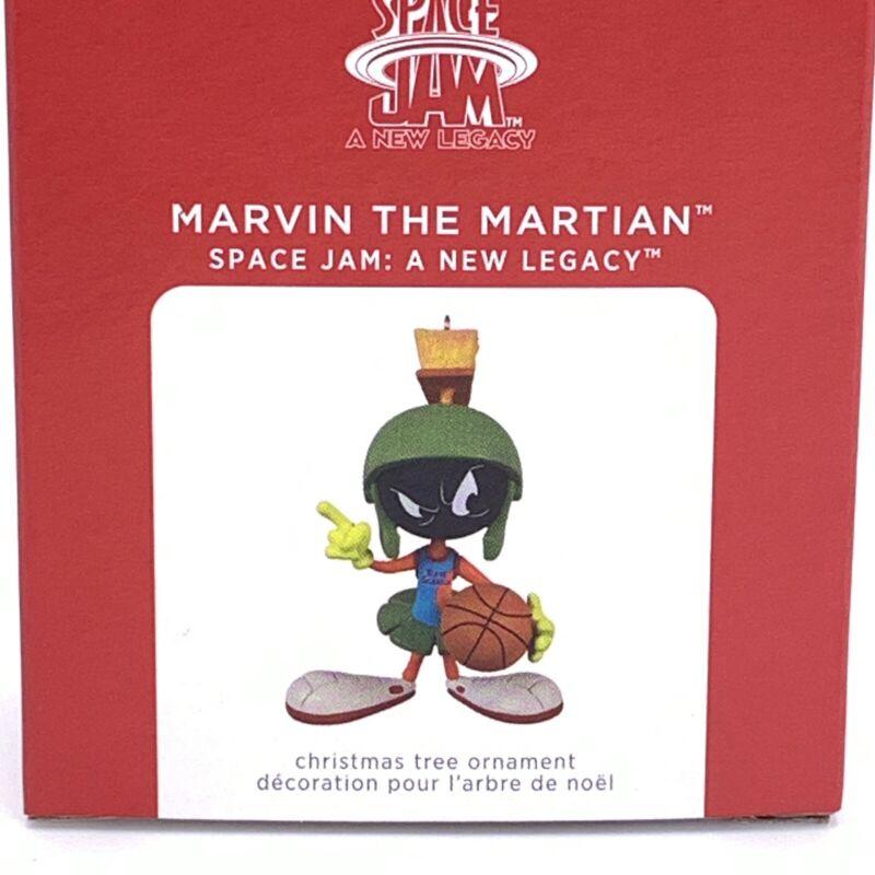 2021 MARVIN the MARTIAN  Hallmark Keepsake Ornament LIMITED EDITION  Space Jam