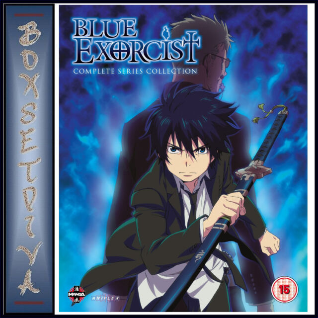 BLUE EXORCIST - THE COMPLETE SERIES COLLECTION  *BRAND NEW BLURAY**