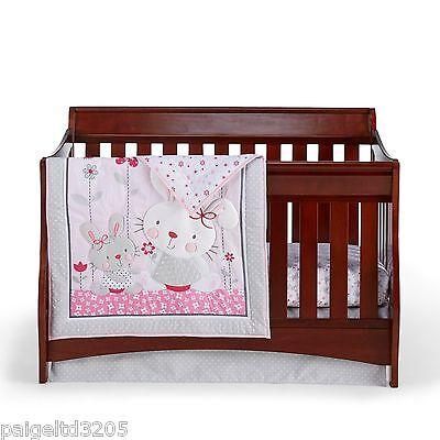 CuddleTime Cuddletime 3 Piece  Nursery Set - Bella Bunny Collection (Collection 3 Piece Nursery)