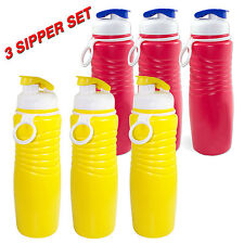 Oliveware Sipper Water Bottle Set of 3