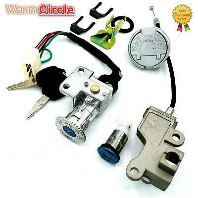 TAOTAO NST ZNEN BMS GY6 49CC 50CC  SCOOTER MOPED IGNITION SWITCH KEY LOCK SET