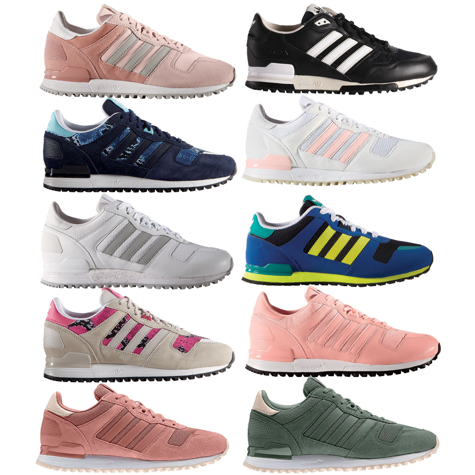 adidas zx 700 trainers pink /white stripes png templates scrapbook