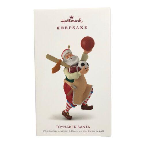 2018 Hallmark Keepsake Toymaker Santa Ornament 19th in Series NEW