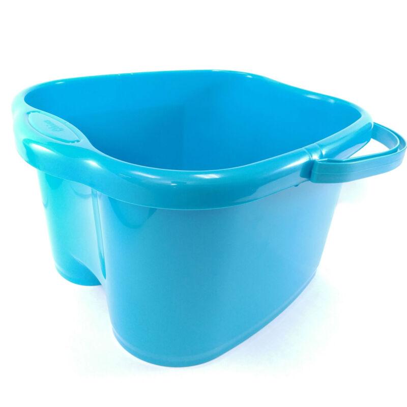 Ohisu Blue Foot Soaking Bucket Basin Tub. Bath, Detox, Soak, or Scrub both Feet
