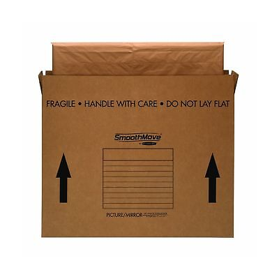 Bankers Box Smoothmove Tvpicturemirror Moving Box Medium 37 X 4 X 27 Inch...