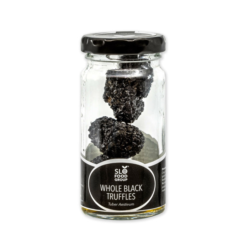 Preserved Black Summer Truffles