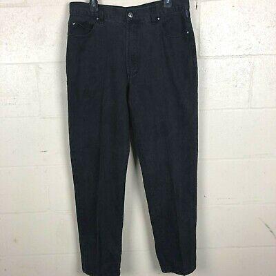 Versace Men's Classic Fit Jeans Size 36x32 Black XB14  14 Classic Men Jeans