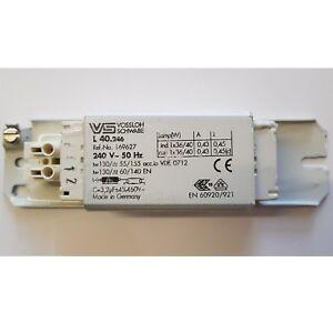 Vossloh Schwabe Magnetic 1x36W/40W Ballast T8 Tube Light Choke Fluorescent Lamp