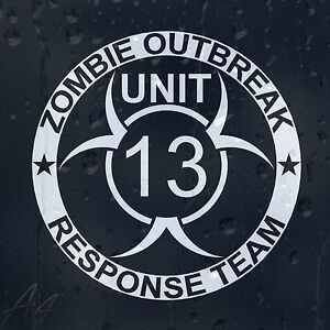 Zombie-Outbreak-Response-Team13-Car-Phone-Window-Laptop-Wall-Decal-Vinyl-Sticker