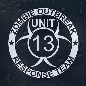 Zombie-Outbreak-Response-Team13-Car-Phone-Window-Laptop-Wall-Decal-Vinyl-Sticker