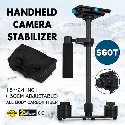"S60T 24"" Handheld Stabilizer Carbon Fiber SteadyCam Gradienter for Camera DSLR"