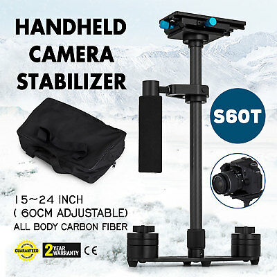 """S60T 24"""" Handheld Stabilizer Carbon Fiber SteadyCam for Cano"""