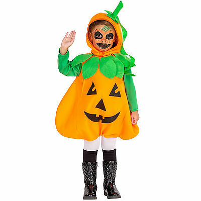 Kinderkostüm Kürbis Kostüm Karneval Fasching Halloween Kinder Jungen Mädchen