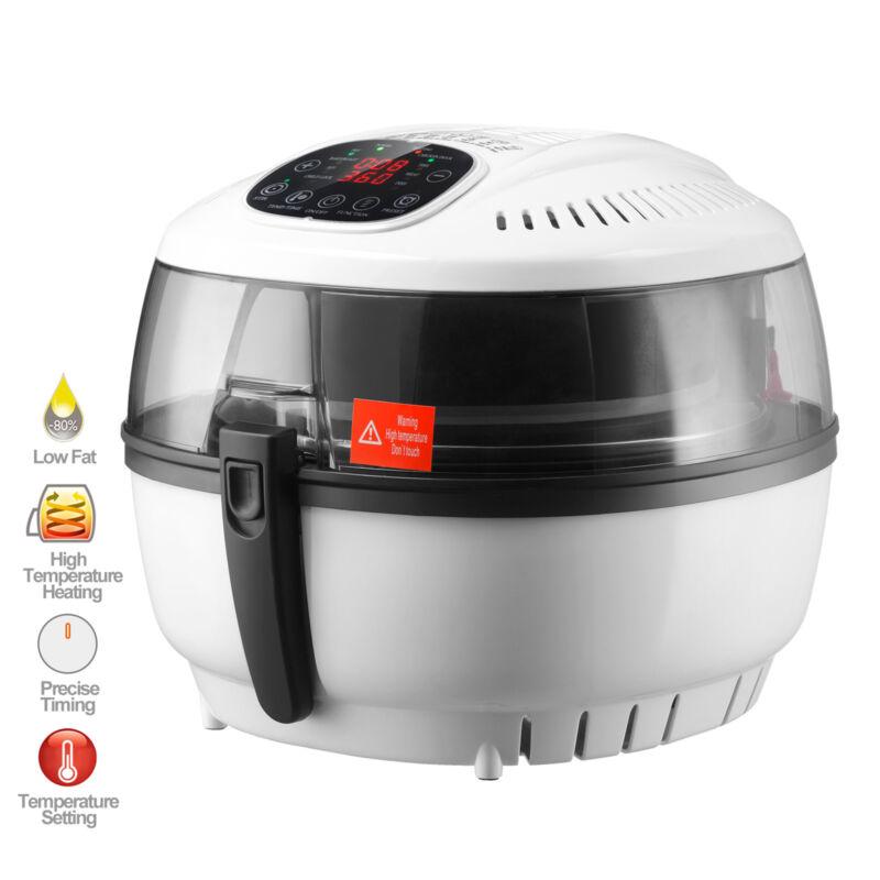 7.4 QT Electric No Oil Air Fryer Digital Touch Screen Temperature Timer Control