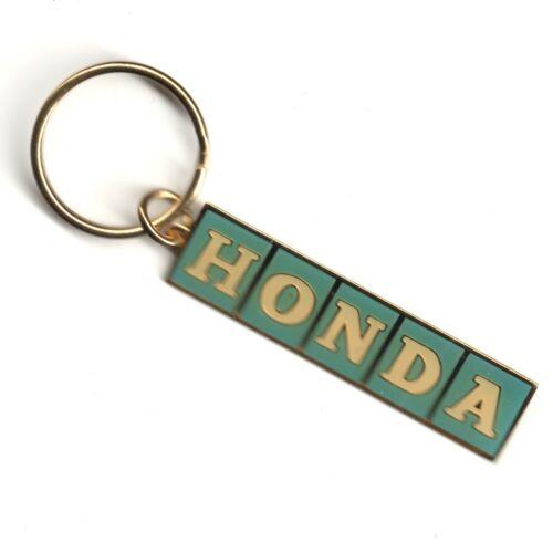 Vintage 1970s HONDA Logo Keychain Keyring FACTORY SEALED NOS IOP