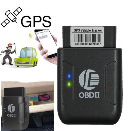 Mini OBD II Vehicle Car GPS OBD2 Tracker Realtime Truck Tracking Device GSM GPRS
