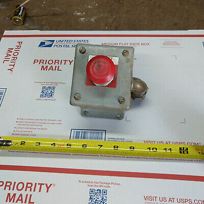 Allen-bradley Emergency E-stop Push Button W Enclosure