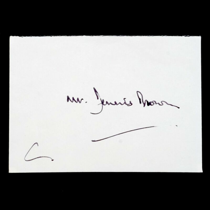 HRH Charles Prince Wales Signed Autograph Letter Royal Document King Crown Abbey