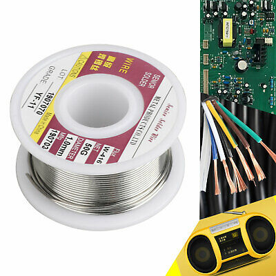 60-40 Tin Lead Rosin Core Solder Wire For Electrical Solderding .0391.0mm 50g