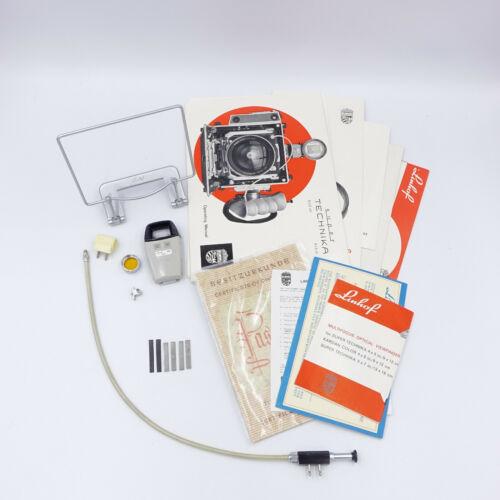 Lot of Linhof Parts. Booklets, Filter, Wire Frame Finder, And More.  #DR7039