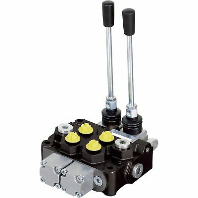 Nortrac Monoblock Hydraulic Control Valve12 Gpm 2 Spool