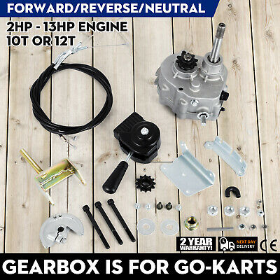 Go Kart Forward Neutral Reverse Gearbox 2-13HP Engine 40/41 10t use with TAV30