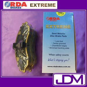 JEEP WRANGLER JK 2.8TD, 3.8 Litre (2007 onwards) - RDA EXTREME Front Brake Pads