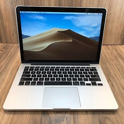 "Apple MacBook Pro 13"" Retina 256GB SSD 8GB RAM 2.6GHz Intel i5 Processor Tested"
