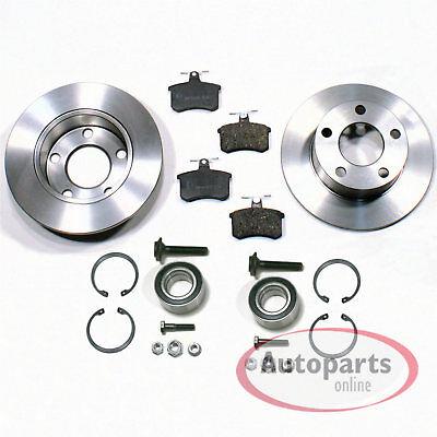 Audi A4 Quattro [B5] - Discos de Freno Pastillas Kit Cojinetes Rueda...