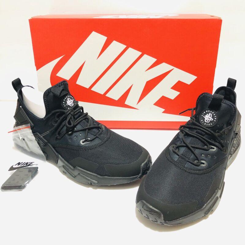 official photos ed1f7 aef74 Nike Air Huarache Drift Running Shoes Mens Triple Black AH7334-003 New NIB