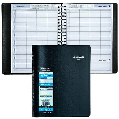 2021 At-a-glance Dayminder G560-00 4-person Daily Appointment Book 7-78 X 11