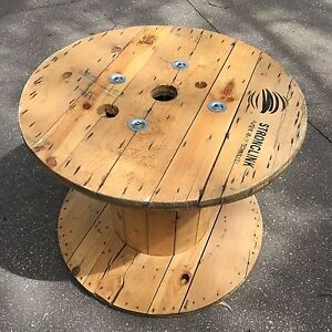 Wooden cable reel / great outdoor table! Katoomba Blue Mountains Preview